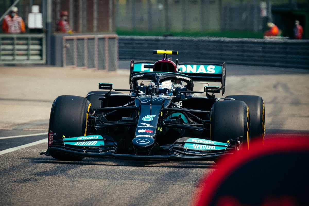 Valtteri Bottas al Gran Premio dell'Emilia Romagna di F1 2021 a Imola