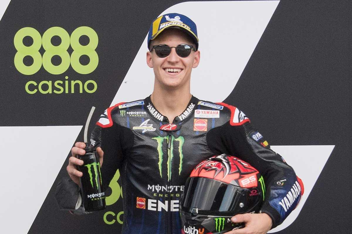 Fabio Quartararo vincitore del Gran Premio del Portogallo di MotoGP 2021 a Portimao