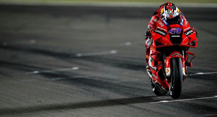Jack Miller in pista nel Gran Premio di Doha di MotoGP 2021 a Losail