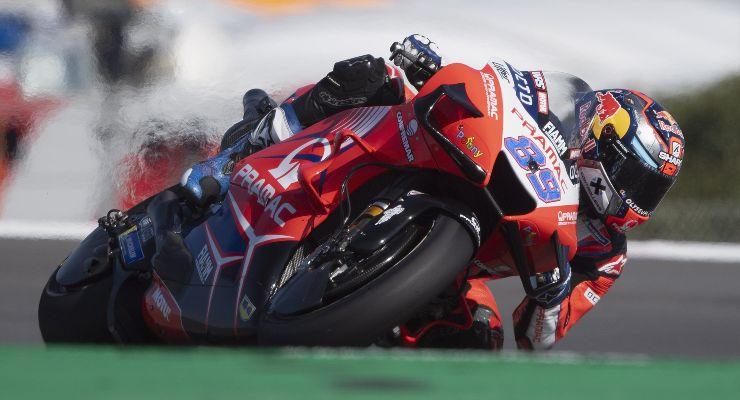 Jorge Martin in sella alla Ducati Pramac sul Gran Premio del Portogallo di MotoGP 2021 a Portimao