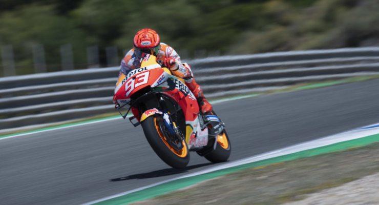 Marc Marquez a Jerez
