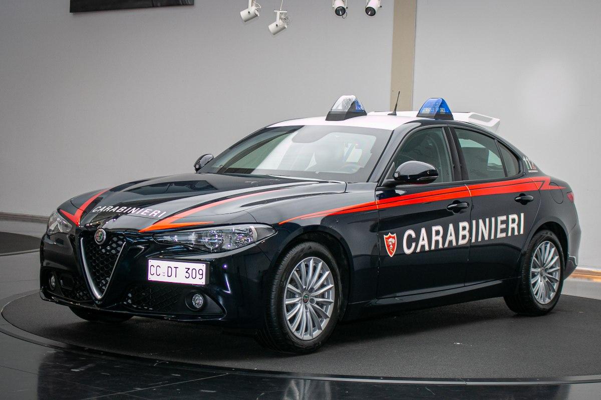 La nuova Giulia dei Carabinieri