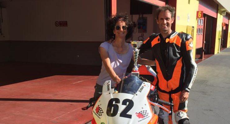 Stelvio Boaretto con la moglie Michela Zaggia