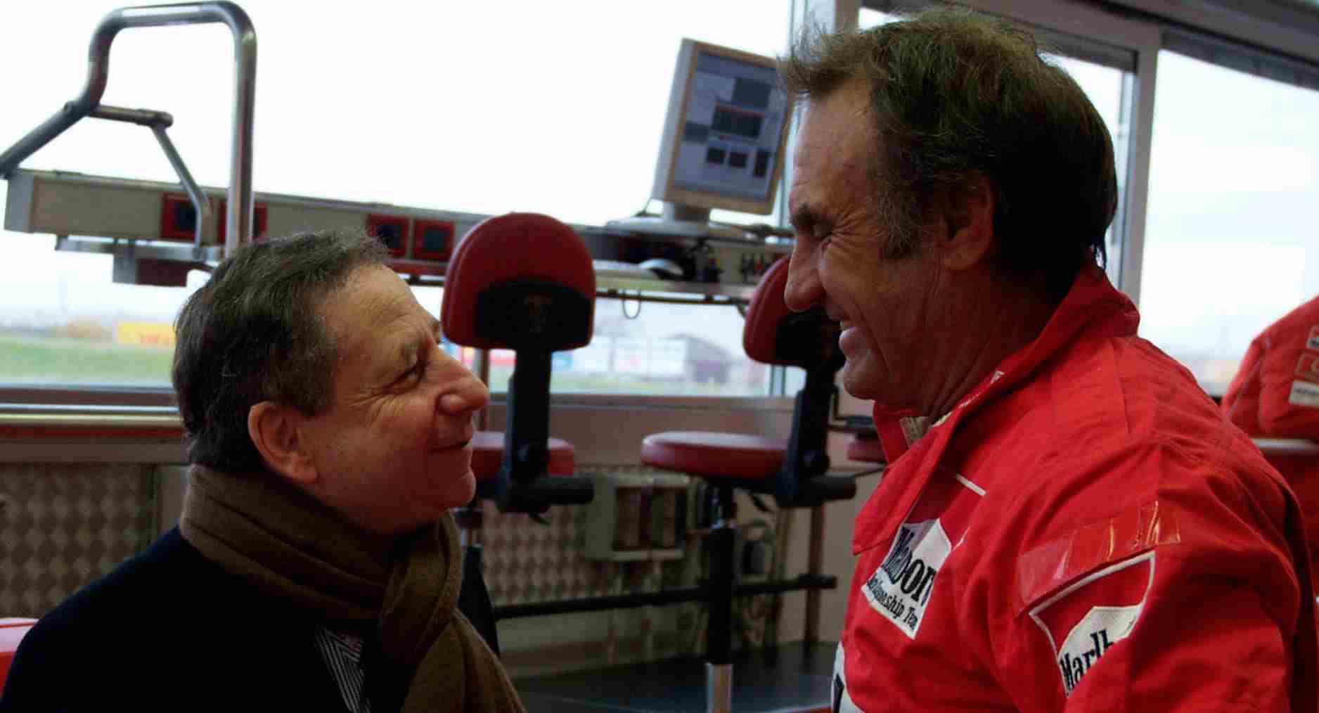 Carlos Reutemann con Jean Todt