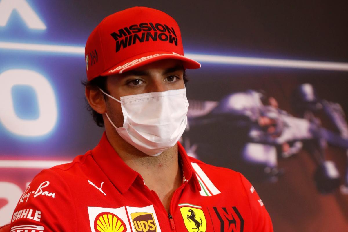 Carlos Sainz nella conferenza stampa alla vigilia del Gran Premio di Montecarlo di F1 2021 a Monaco