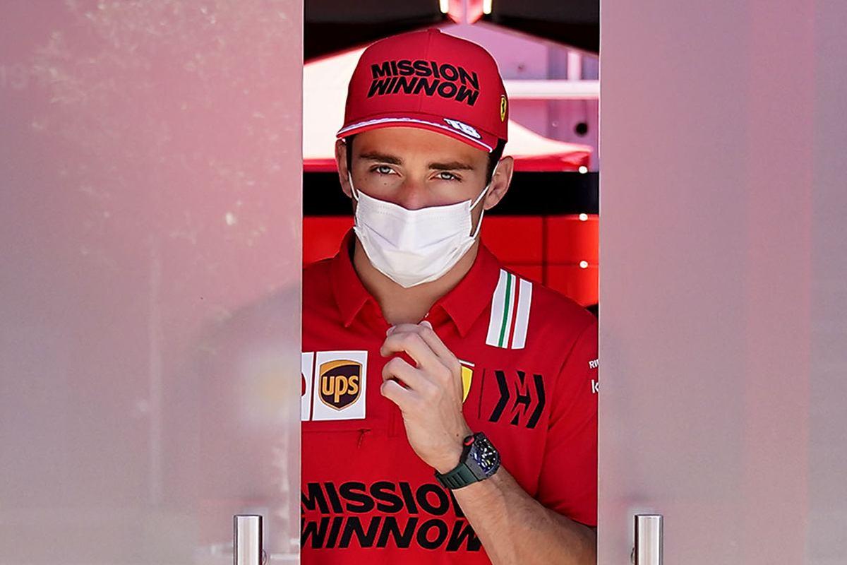 Charles Leclerc al giovedì del Gran Premio di Spagna di F1 2021 a Barcellona