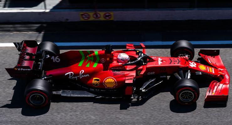 Charles Leclerc (Foto Ferrari)
