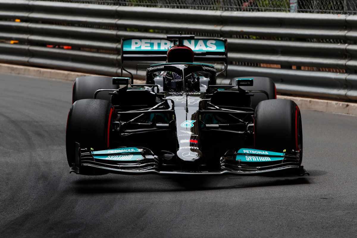 Lewis Hamilton nel Gran Premio di Montecarlo di F1 2021 a Monaco