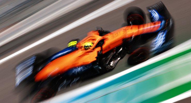 Lando Norris sulla McLaren