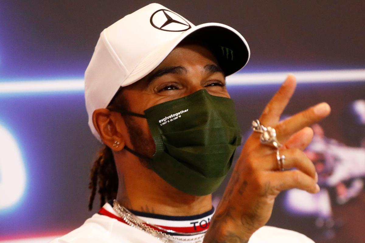 Lewis Hamilton nella conferenza stampa della vigilia del Gran Premio di Montecarlo di F1 2021 a Monaco