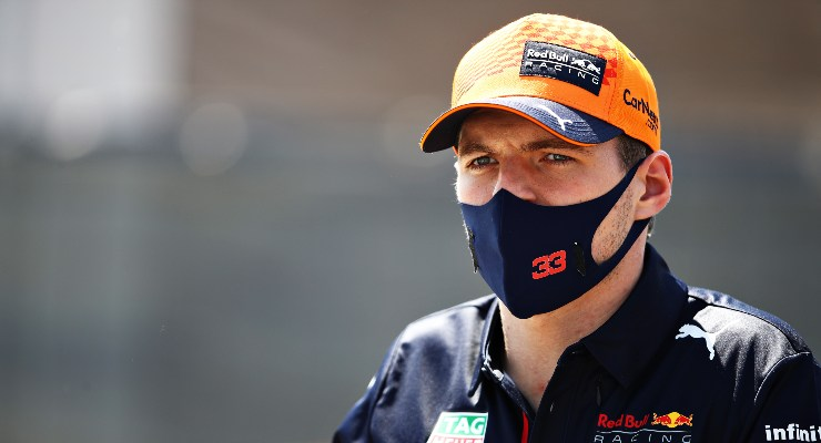 Max Verstappen al giovedì del Gran Premio di Spagna di F1 2021 a Barcellona