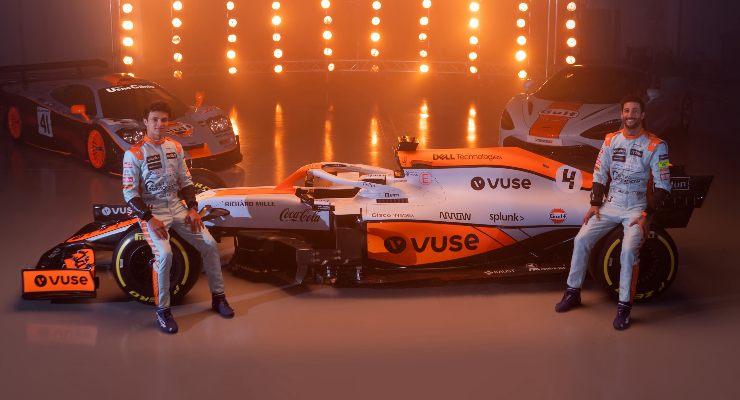 La livrea McLaren per il Gran Premio di Montecarlo