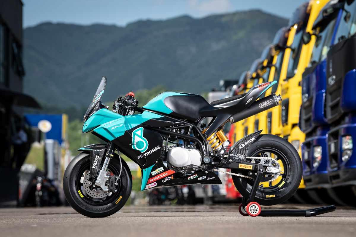 La Petronas Srt Ohvale Special Series MiniGP nel paddock del Gran Premio del Mugello