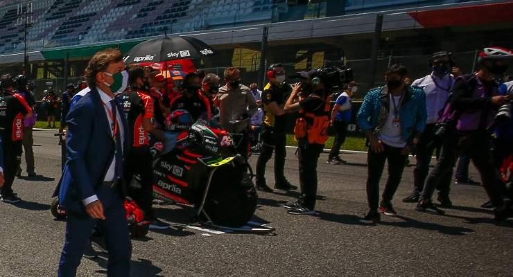 La griglia di partenza della MotoGP al Mugello
