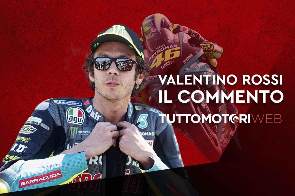 Valentino Rossi, il commento