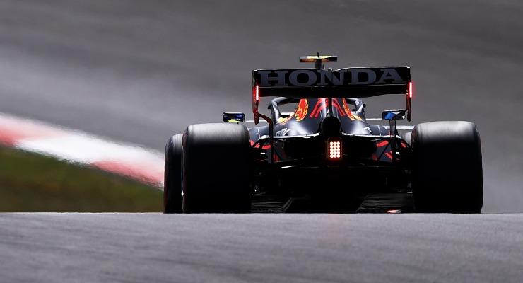 Max Verstappen nelle qualifiche del Gran Premio del Portogallo di F1 2021 a Portimao