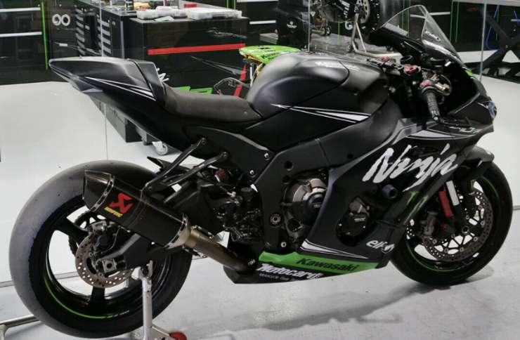 La Kawasaki Ninja ZX-10RR 2016 Jonathan Rea