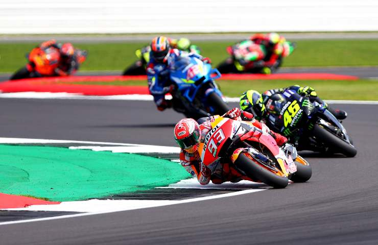 Marquez e Valentino Rossi (GettyImages)