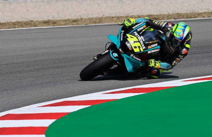 Valentino Rossi in pista (GettyImages)