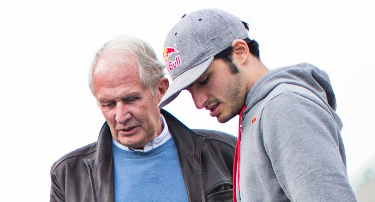 Carlos Sainz e Helmut Marko