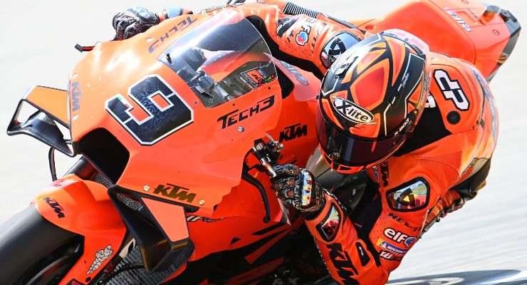 Danilo Petrucci sulla Ktm nelle qualifiche del Gran Premio di Germania di MotoGP 2021 al Sachsenring