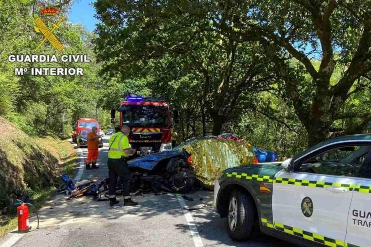 L'incidente fatale di Victor Magarinos al Rally di Pontevedra