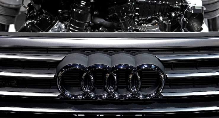 Il logo della Audi