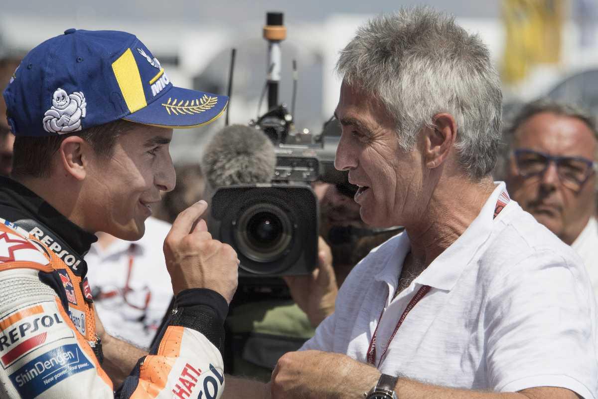 Marc Marquez e Mick Doohan