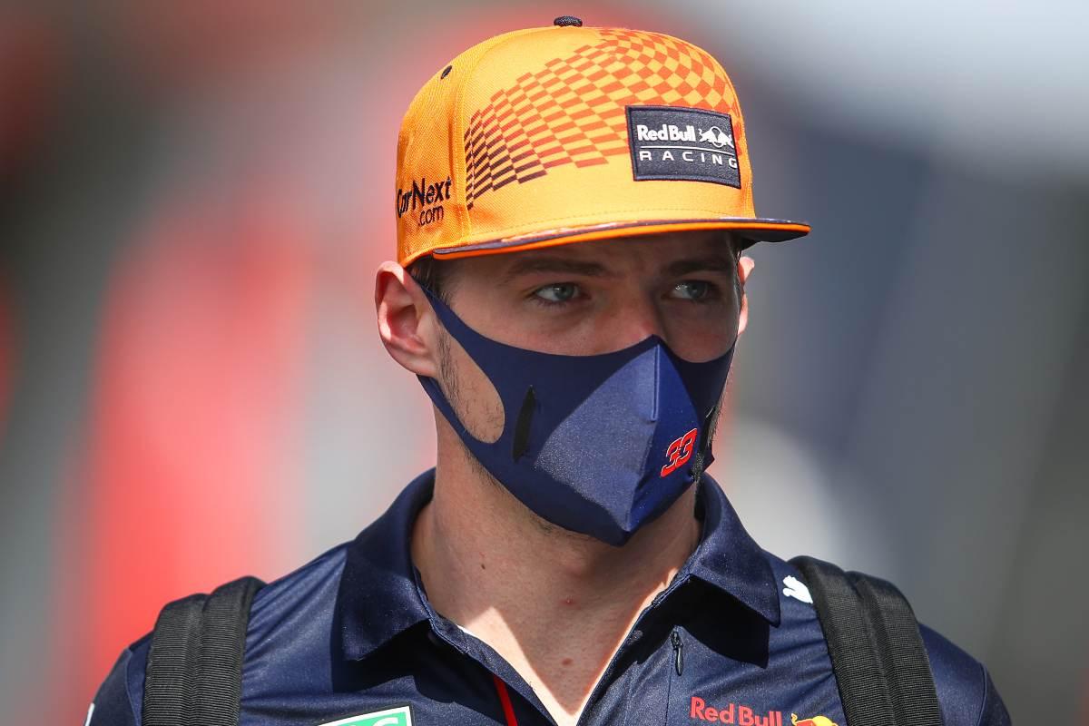 Max Verstappen nel paddock del Gran Premio di Francia di F1 2021 al Paul Ricard