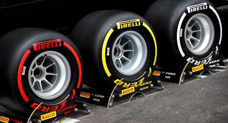 Le gomme di Formula 1