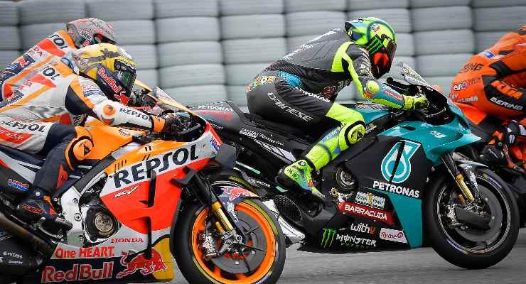 Valentino Rossi in pista al Gran Premio di Catalogna di MotoGP 2021 a Barcellona