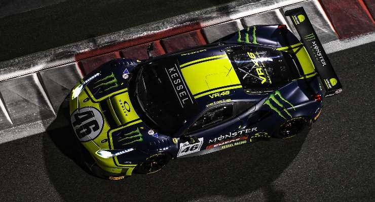 Valentino Rossi sulla 488 Gte del team Kessel