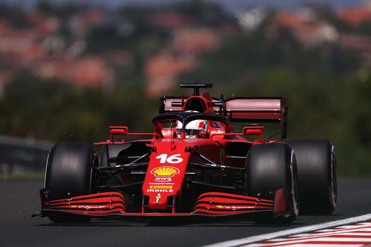 Ferrari - Charles Lecler (GettyImages)