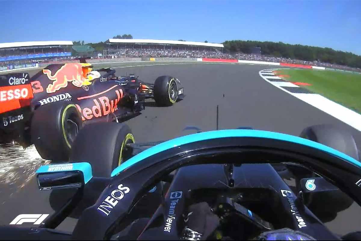 F1 - Verstappen e Hamilton (Twitter)