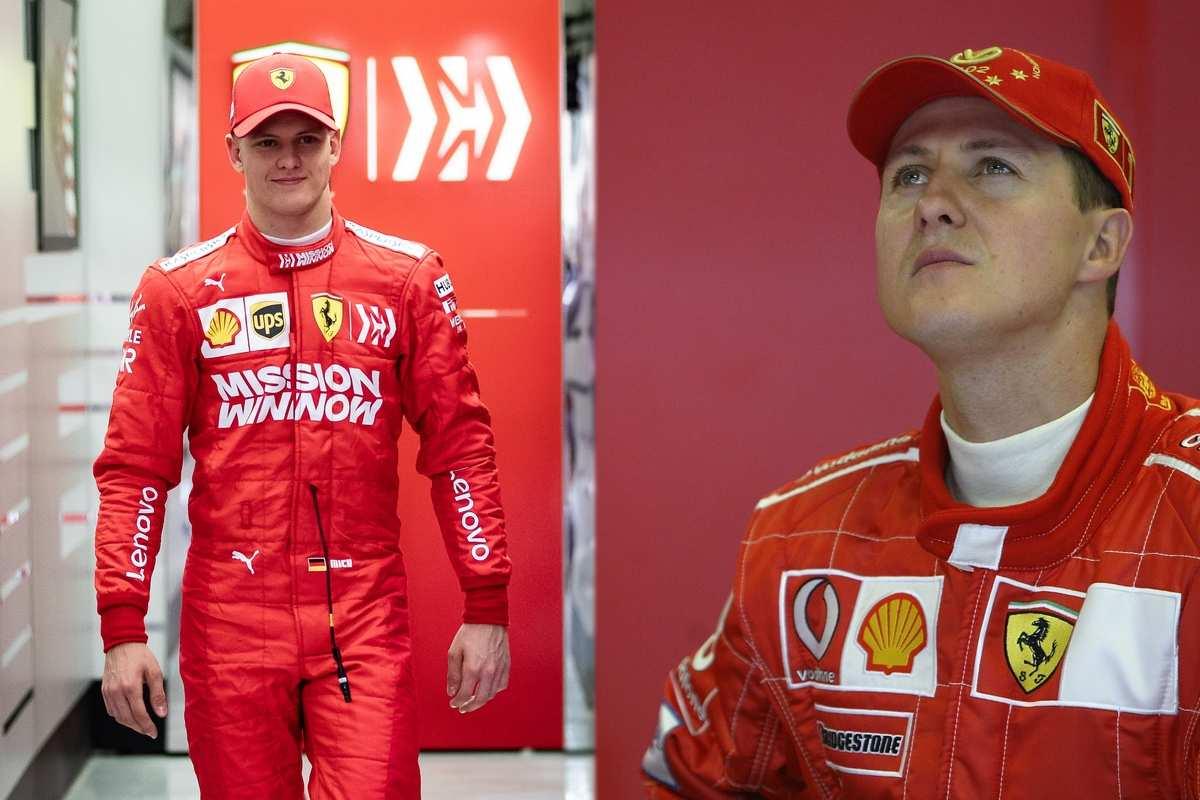 Mick Schumacher e Michael Schumacher (Getty Images)
