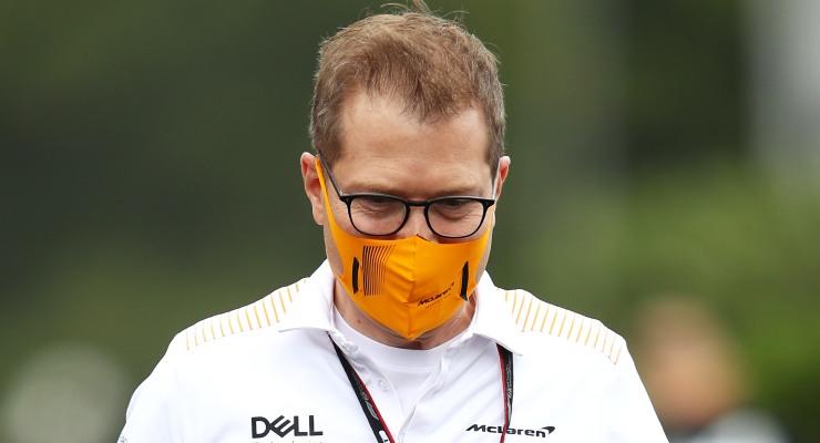 Il team principal della McLaren, Andreas Seidl