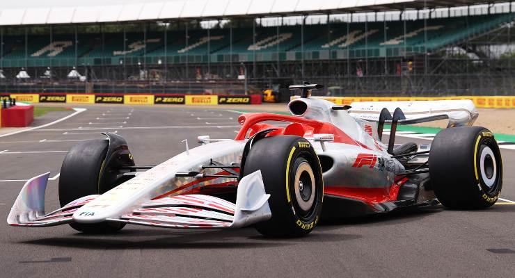 La presentazione della F1 2022 alla vigilia del Gran Premio di Gran Bretagna a Silverstone