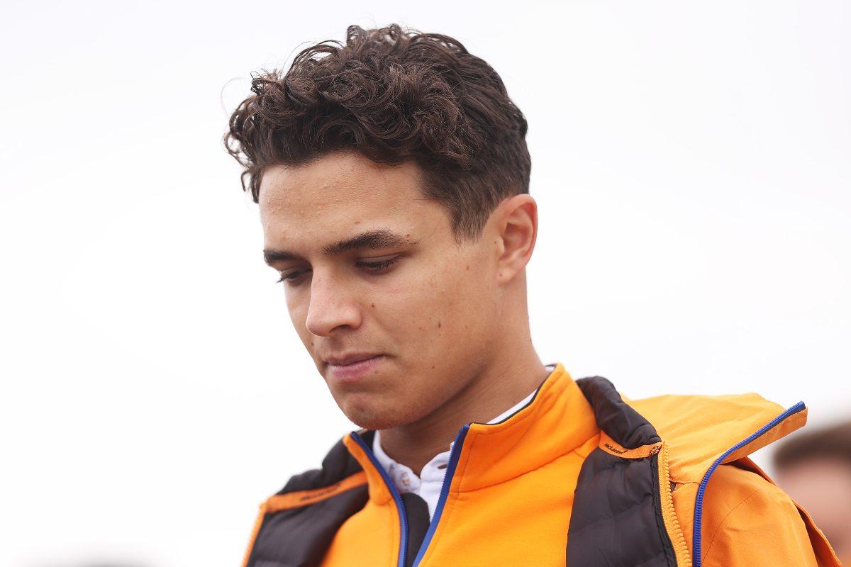 Lando Norris alla vigilia del Gran Premio di Gran Bretagna di F1 2021 a Silverstone