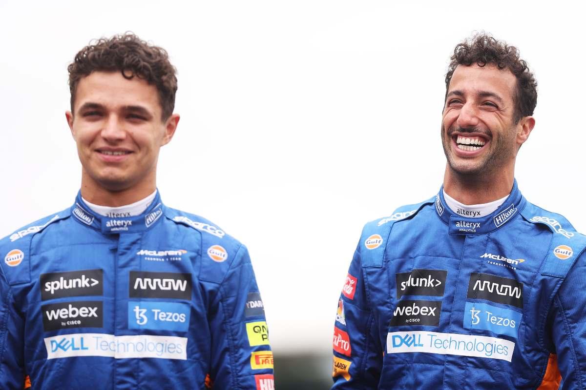 Lando Norris e Daniel Ricciardo