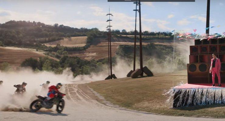 Gianni Morandi al Ranch (Foto YouTube)