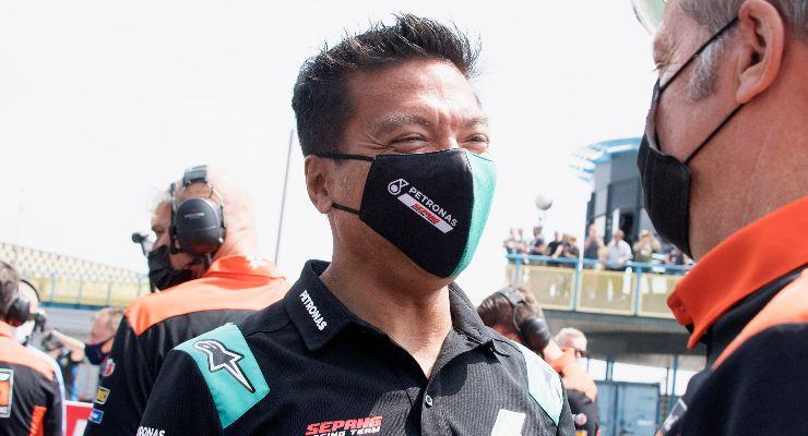Razlan Razali, directeur de l'équipe Petronas