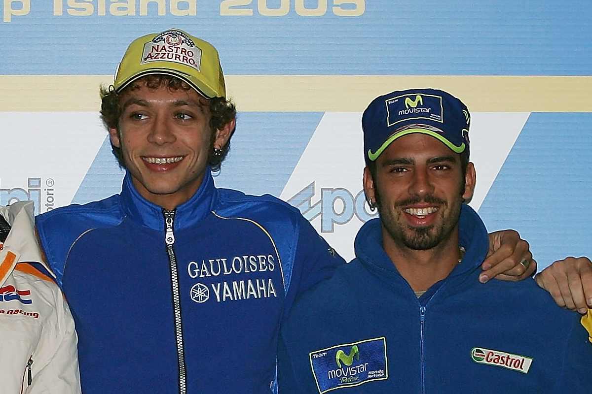 Valentino Rossi e Marco Melandri
