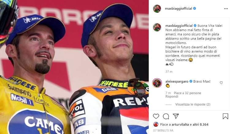 Valentino Rossi Max Biaggi