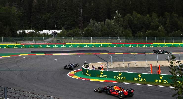 Il circuito di Spa-Francorchamps che ospita il Gran Premio del Belgio di F1