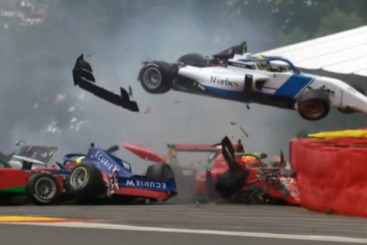 L'incidente durante le qualifiche della W Series a Spa-Francorchamps