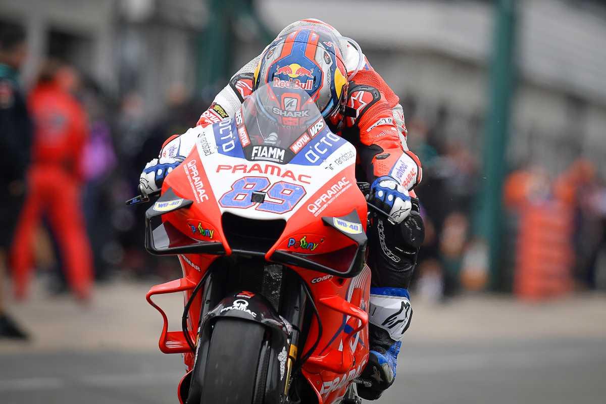 Jorge Martin sulla Ducati Pramac nel Gran Premio di Gran Bretagna di MotoGP 2021 a Silverstone