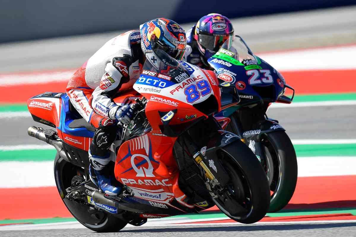Jorge Martin in pista al Gran Premio di Stiria di MotoGP 2021 al Red Bull Ring