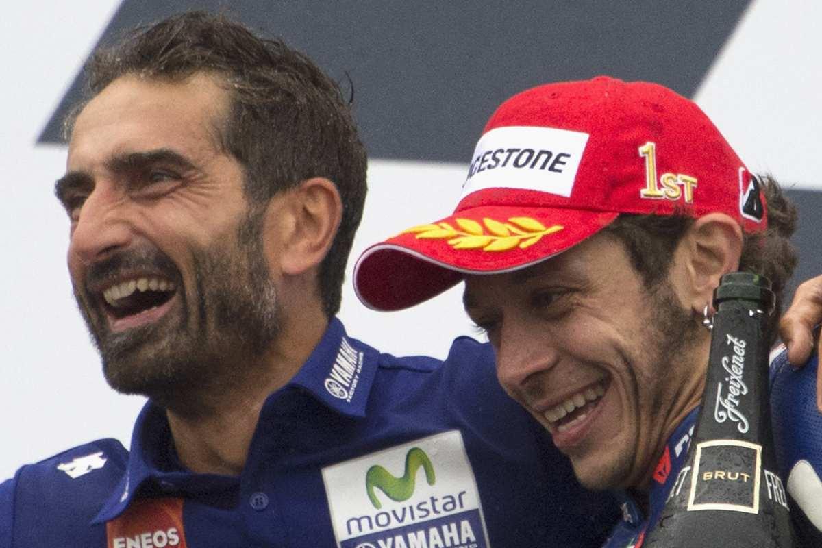 Matteo Flamigni e Valentino Rossi