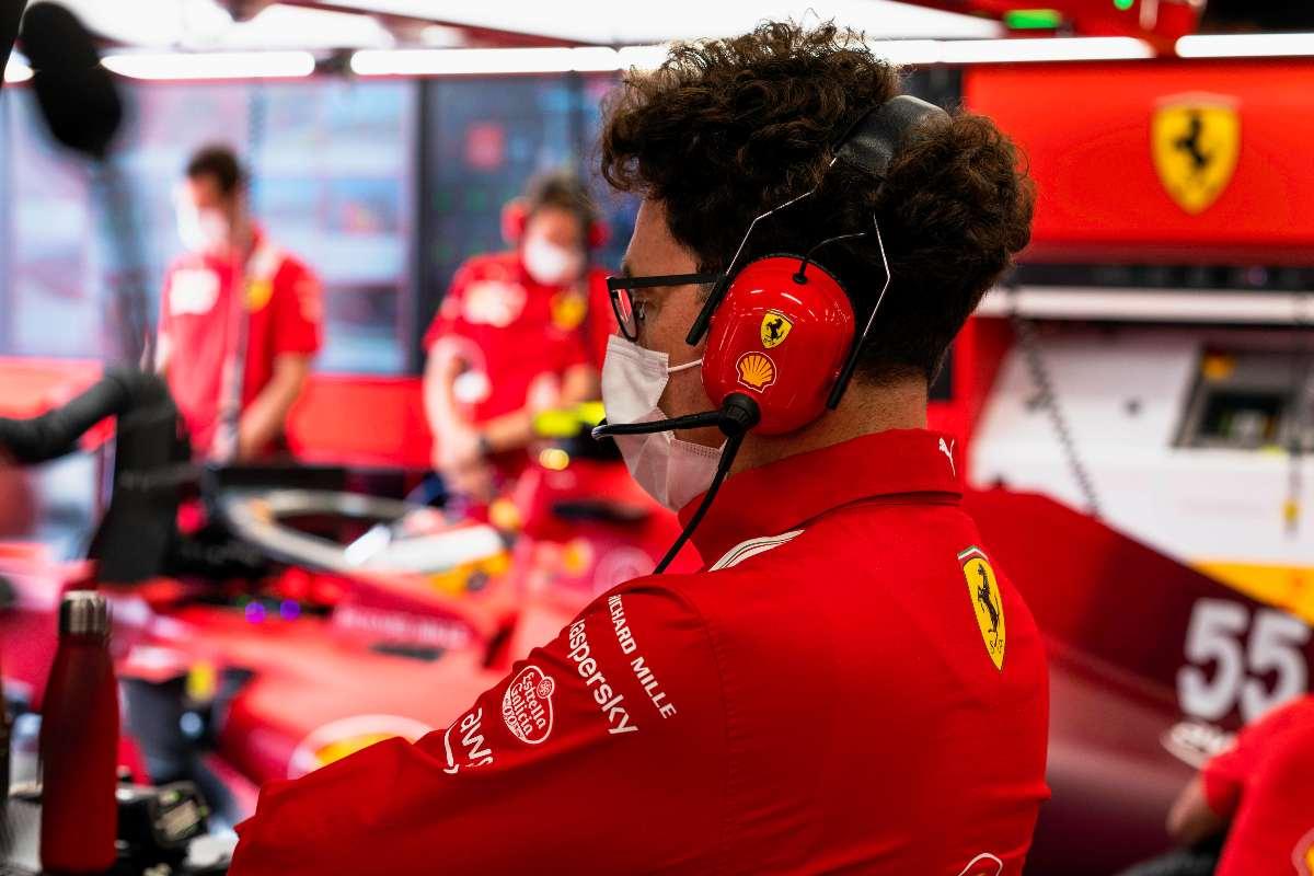Mattia Binotto (Foto Ferrari)