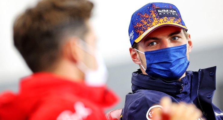 Max Verstappen nella conferenza stampa alla vigilia del Gran Premio del Belgio di F1 2021 a Spa-Francorchamps